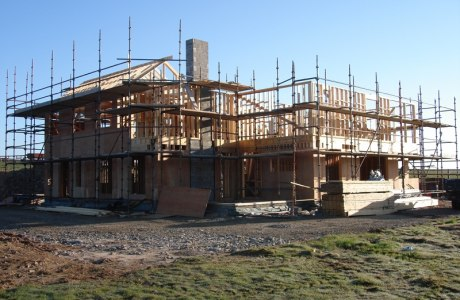linehan construction contemporary new build