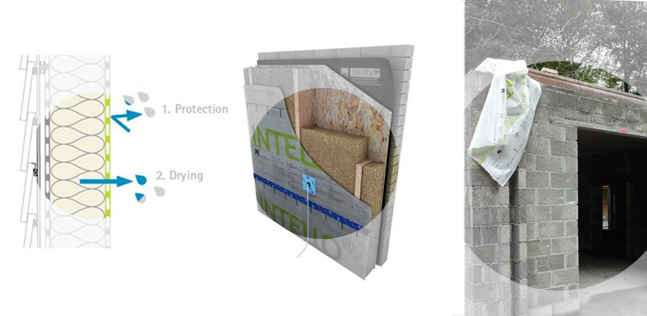 Intello airtight membrane