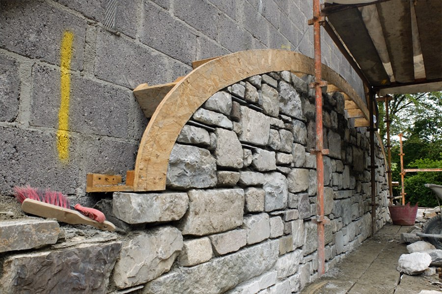 arch stone detail construction