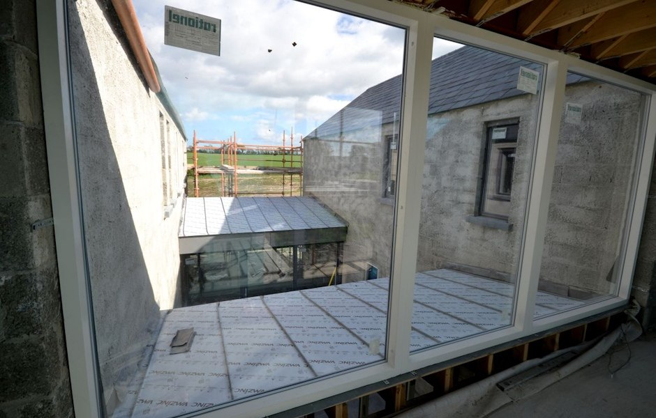 view of courtyard design
