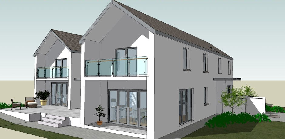 Linehan Construction new build in 3D
