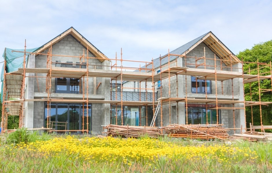 linehan construction new build home