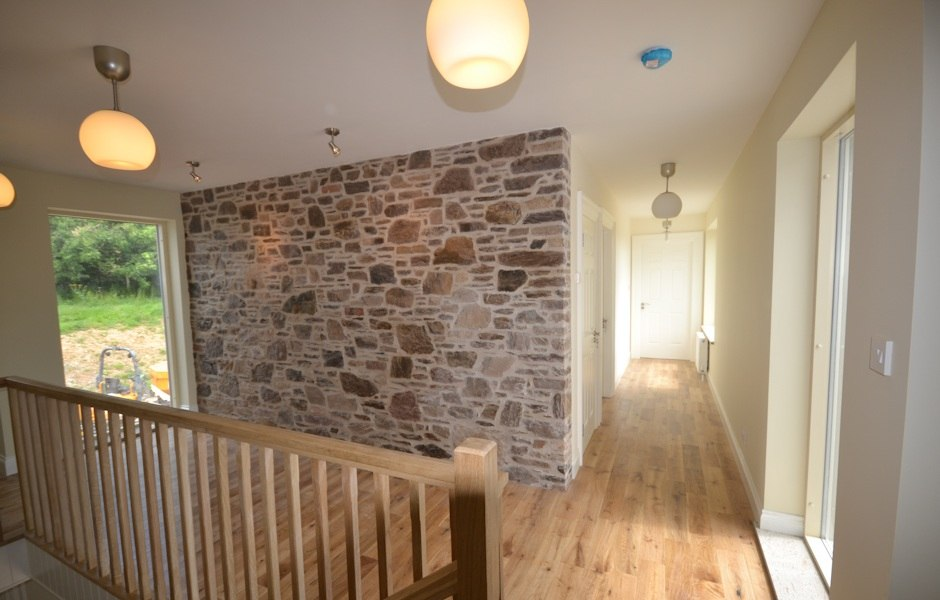 quarry picked stone wall