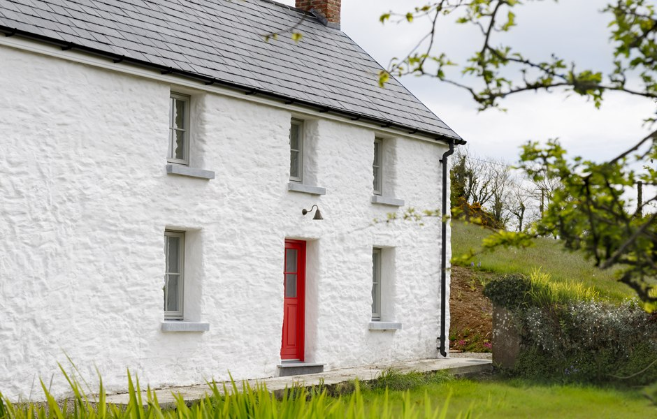 limewahs render cottage cork