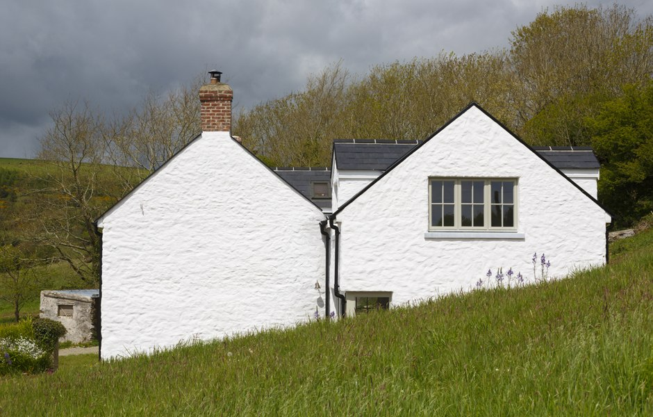 extension farmhouse lime render cork