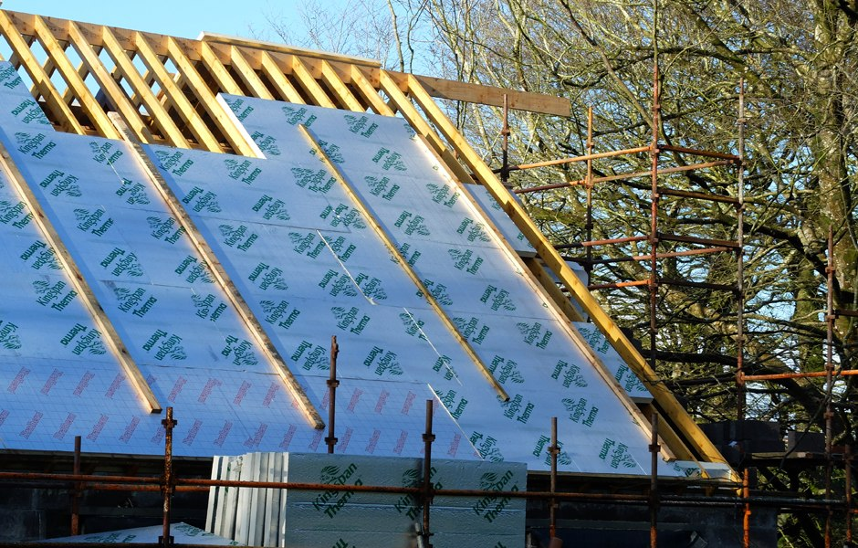 warm roof system cork new build